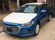 Hyundai Elantra 2017 For sale - Blue color