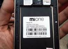 هاتف mione R1 16 gb ram 2gb  اقرا الاعلان اولا