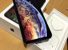 iphone xs max 64  اسود