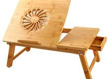 طاولة لاب توب خشب