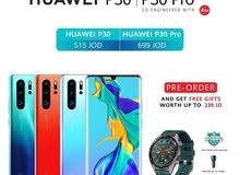 بكج بقيمة 140 دينار مجانا مع الجديد Huawei P30 Pro