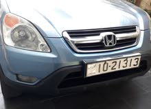 Honda CR-V 2004 For sale - Blue color 4 wheel.open roof.full except leather seat
