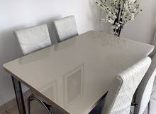 table 90*60 with 4 chairs