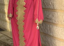 pink Arabic jalabia