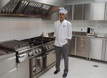 شيف مطبخ باحث عن عمل