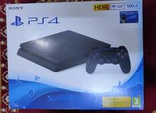 جهاز playstation 4 slim 500g CUH_2216Aجديد