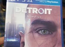 لعبة Detroit نحو الإنسانية عربي ps4 بسعر مناسب جدا