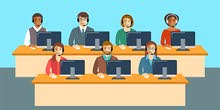 موظف خدمة عملاء (call Center ) يجيد اللهجة المغربية او يجيد اللغة الفرنسية
