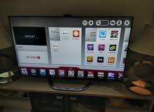 شاشة LG حجم 60 بوصة سمارت مدمج بها كاميرا الشاشة تحفة