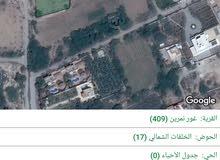 ارض 1907 م في غور الشميساني سكن ب