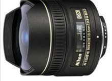 nikon fish eye lens 10.5/f2.8