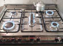 طباخ مستعمل نضيف وبلطبخ سريع