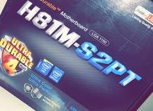 قطع pc للبيع intel i5 motherboard 8G ram