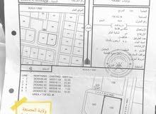 للبيع ارض سكنية في ولاية المصنعة الشرس كورنر المساحة 708 متر