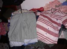 ملابس اطفال كبابيط  اولاد وبنات وسوارى شورتات سراويل امريكانى اولاد وبنات