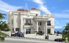 Dabouq neighborhood Amman city - 1240 sqm house for sale
