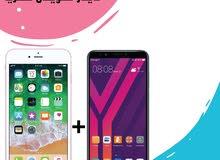 iPhone 6s plus + Huawei Y7