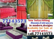 New sofas setting rooms entrances modern designs  available for sale at a specia