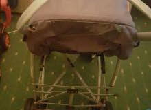 stroller orange colour excellent condition