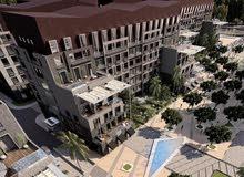 شقه 110م غرفتين للبيع في كمبوند العتال بمقدم 10%