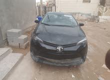 For sale 2017 Black Corolla