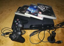 ps3 with all the accessory