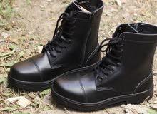 حذاء بسطار - مقاس 46 مناسب لسائقي الدرجات النارية