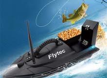 قارب صيد للتحكم عن بعد  flytech fishing boat