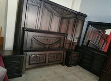 غرفة نوم ماستر مفصلةتفصيل من أجود أنواع خشب لاتيه قشرة بلوط شبه جديد