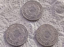 5 فرانك مغربية 1352ه من الفضة