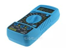 Digital LCD Multimeter Voltmeter Ammeter AC/DC/OHM Volt Current Tester