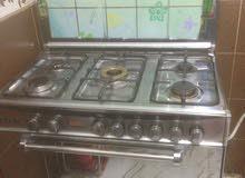 طباخ مستعمل شهر ( 5 عيون + فرن ) 07810092014