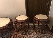 طقم طاولات مصري نظيف