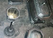 فنيق او مرشة من الفضة قدام