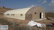 8x32 NadideModel 2 طبقات معزول 4 طبقات خيمة الأغنام.