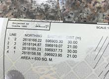 للبيع ارض في حي عاصم