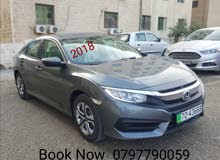Honda Civic car is available for a Day rent