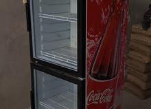 تلاجه عرض كوكا كولا  باب واحد