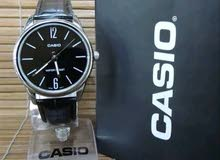 Casio mtp v005l-1b For Men-Analog, Casual Watch Leather band