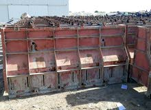 Iron molds for Concrete barriers