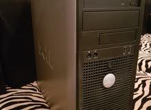 كمبيوتر كيس وشاشة نوع ديل جديد