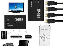 موزع HDMI خماسي