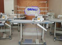 ماكينة خياطة حبكة ORFALI 4خيط