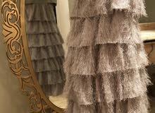 فستان هدب طبقات للبيع