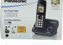 تلفون ارضي نقال Panasonic KX-TG3711BX وكالة