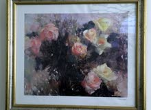 لوحة قديمة مميزه من رسامه معروفة