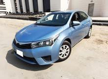 Toyota Corolla 2015 (blue) 500 kd discount