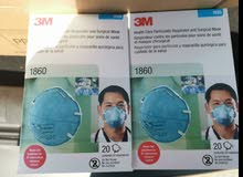 PPE & 3M 1860 N95 FACE MASK COVID -19