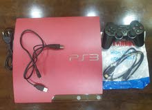 Ps3 limited edition (red colour) jailbreaked.