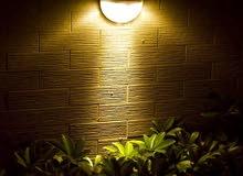 فخامة الإضاءة الصفراء بالطاقة الشمسية
